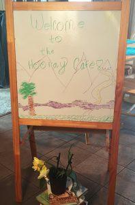 Hooray Cafe Easel