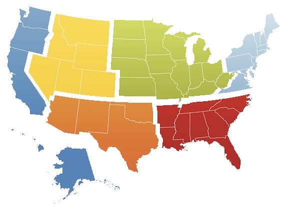 Good Deeds Regional Map